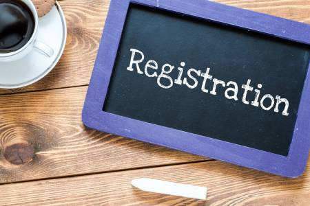 Registration and verification
